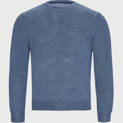 Cervo Striktrøje Regular | Cervo Striktrøje | Denim